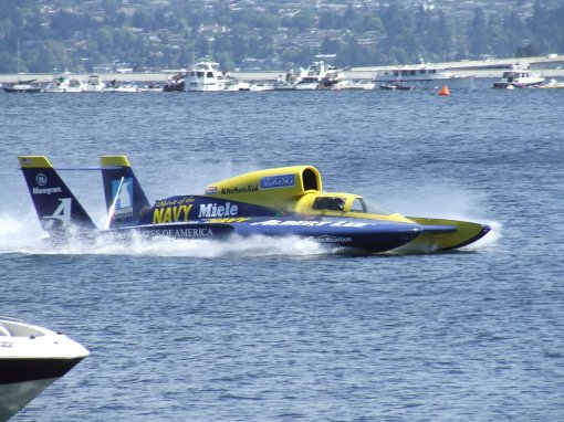 Hydroplane Racing on Lake Washington
