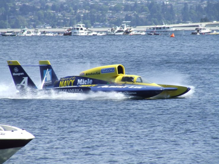 Hydroplane Racing on Lake Washington